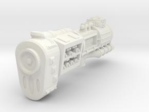 XH301 CB01 Xyorrat Battlecruiser in White Natural Versatile Plastic