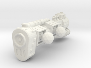 XH302 BSG01 Vydrosa Disruptor Battleship in White Strong & Flexible