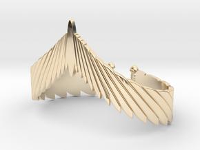 Falcon Wing Bracelet in 14K Yellow Gold