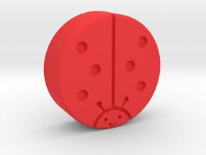 LadyCap in Red Processed Versatile Plastic