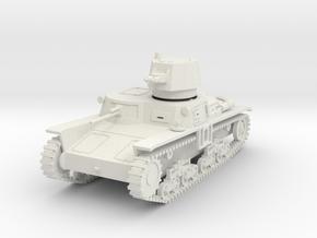 PV102A M11/39 Medium Tank (28mm) in White Natural Versatile Plastic
