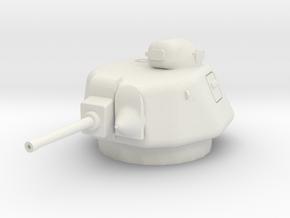 PV86B APX-1 CE Turret (Somua S35) (1/48) in White Natural Versatile Plastic