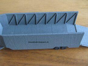 1/144 trailer for Landwasserschlepper in White Natural Versatile Plastic