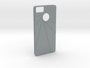 Aperture Iphone 5s Case in Polished Metallic Plastic