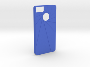 Aperture Iphone 5s Case in Blue Processed Versatile Plastic