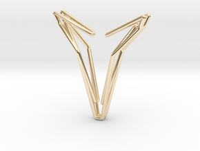 YOUNIVERSAL 77, Pendant in 14K Yellow Gold