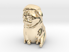 Bah Humpug in 14K Yellow Gold