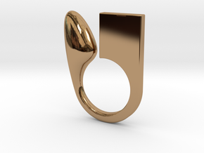 Kin - Size XS in Polished Brass