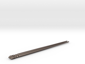 Chopsticks in Polished Bronzed Silver Steel
