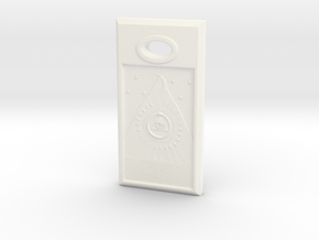 Love Stone - Italian in White Processed Versatile Plastic