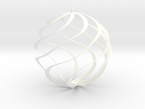 ornament for christmas tree in White Processed Versatile Plastic
