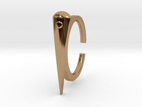 Ring 2-4 in Polished Brass