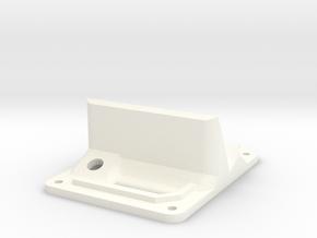 Minimalistic Emax Nighthawk 280 - Top Plate + GoPr in White Processed Versatile Plastic
