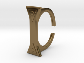 Ring 5-7 in Polished Bronze
