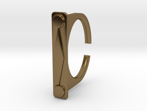 Ring 1-9 in Polished Bronze