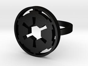 Star Wars Empire, Size 7 in Matte Black Steel