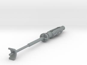 Star Wars POTF X-Wing Laser Cannon Rot. Suppressor in Polished Metallic Plastic