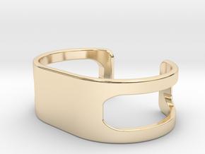 Bracelet, size 2, embossed - 55x26 in 14K Yellow Gold
