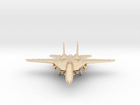 F14 grumman Jet in 14k Gold Plated Brass