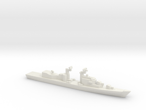 Audace-Class DDG (1971) w/ Barrels, 1/3000 in White Natural Versatile Plastic