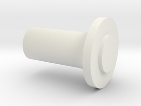 Support flange (PN) to polish (  Mini-Z ) in White Natural Versatile Plastic