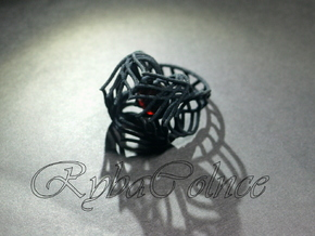 Ring / size 6 1/2 US in Black Strong & Flexible