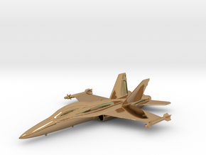 McDonnell Douglas F/A-18 Hornet F-18 Gold & precio in Polished Brass