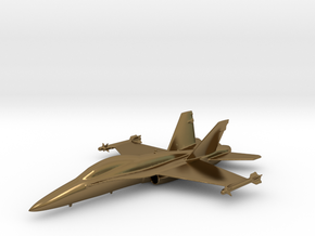 McDonnell Douglas F/A-18 Hornet F-18 Gold & precio in Polished Bronze