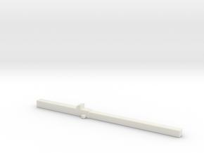 Z 008 Betonträger Ladegut HO 1:87 in White Strong & Flexible