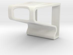 Phone Holder Economy in White Natural Versatile Plastic