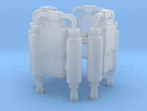 EQ07 Joe Jet Pack - set of 4 (28mm) in Smooth Fine Detail Plastic
