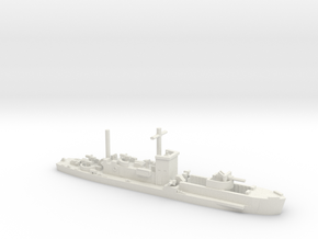 LCI(G) 1/700 scale in White Natural Versatile Plastic