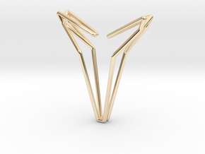 YOUNIVERSAL 8, Pendant in 14K Yellow Gold