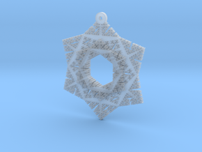 Cesaro Snowflake - 3 in Smooth Fine Detail Plastic