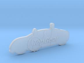 TopGear Crew Silhouette  in Smooth Fine Detail Plastic