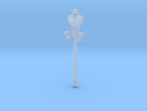 Sailor Moon Spiral Heart Rod SD  in Smooth Fine Detail Plastic