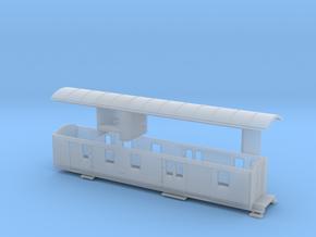 Nm Post- und Gepäckwagen YsteC Fz61 (1:160) in Smooth Fine Detail Plastic