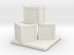 Crate Stack in White Strong & Flexible