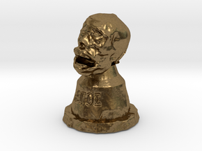 """""""The Head of St. Legos"""" in Natural Bronze"""
