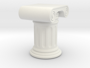 Roman Column New in White Natural Versatile Plastic