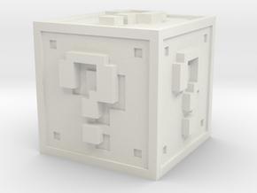 Mario New in White Natural Versatile Plastic