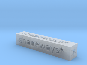 Shapeways Stick 1 - S in Smooth Fine Detail Plastic