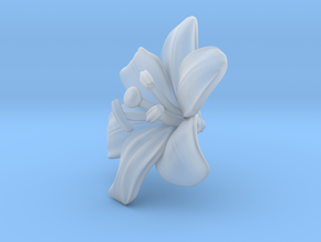 Lily Flower 1 - L in Smooth Fine Detail Plastic