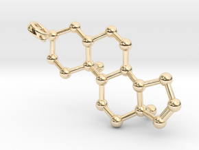 Androstenol in 14K Yellow Gold