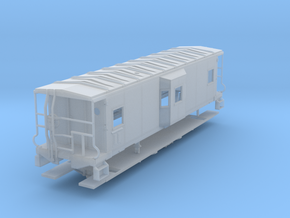 Sou Ry. bay window caboose - Gantt - O scale in Frosted Ultra Detail