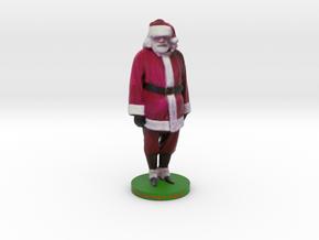 Santa in Full Color Sandstone