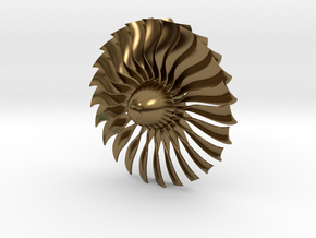 Turbine Alliance 80mm in Polished Bronze