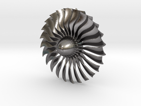 Turbine Alliance 80mm in Polished Nickel Steel