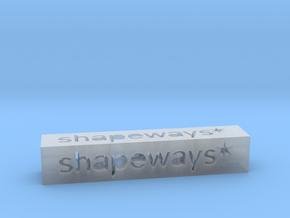 Shapeways Stick 1 - M in Smooth Fine Detail Plastic