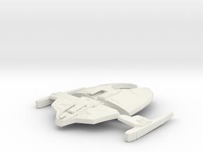 Jemhadar fighter in White Natural Versatile Plastic